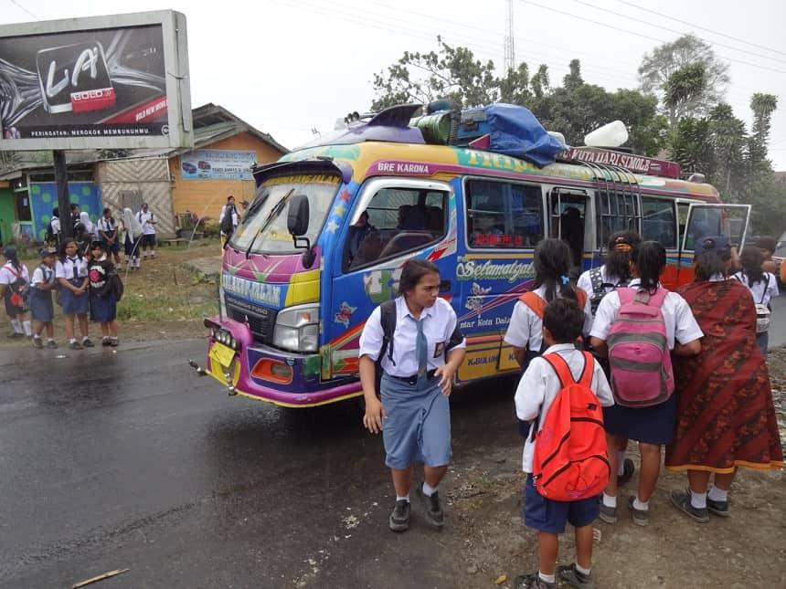 lokaal transport sumatra