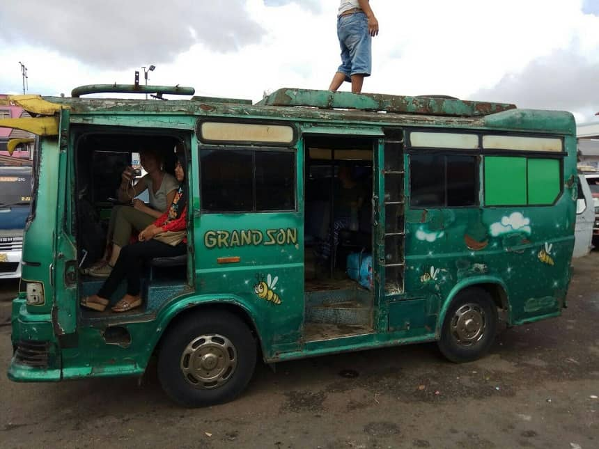 lokaal vervoer sumatra