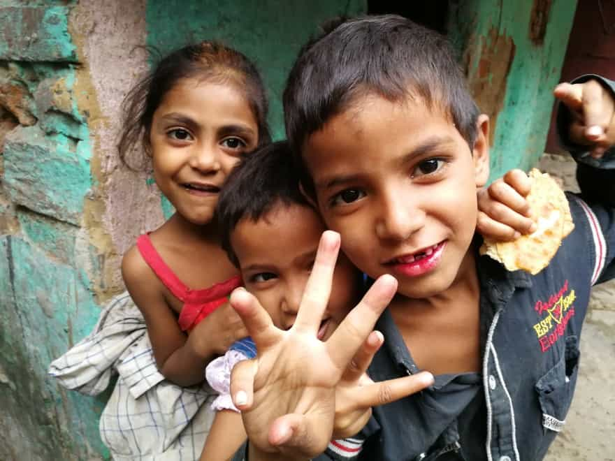 slum walk tour delhi