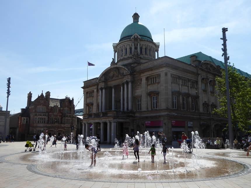 Hull, een van die leuke steden in Noord-Engeland