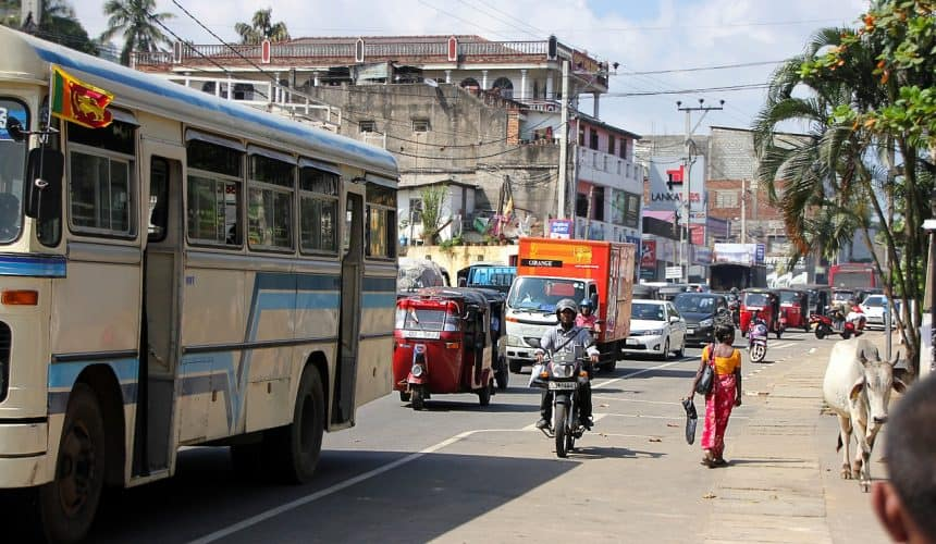 Sri Lanka huurauto met chauffeur