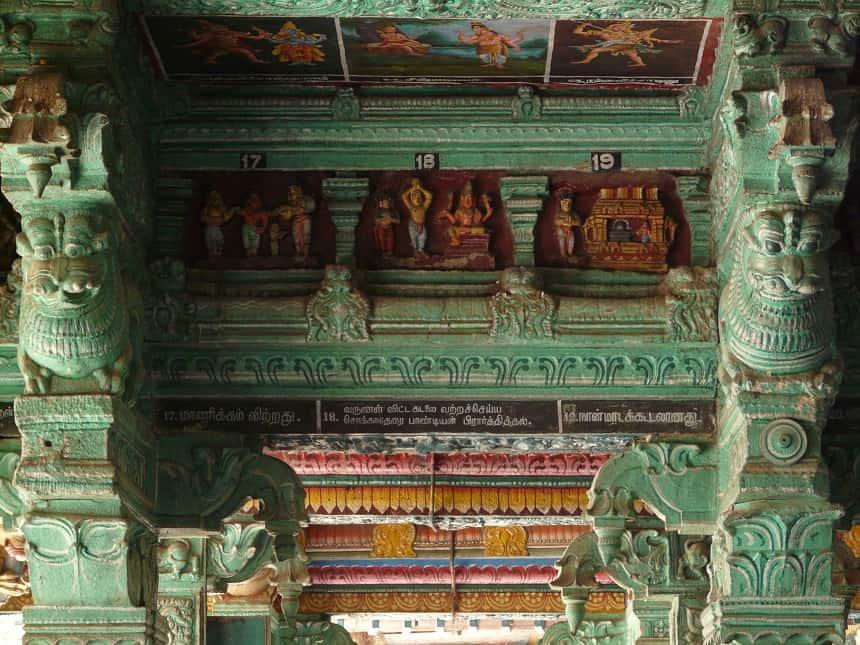 De Menaakshi Tempel in Madurai