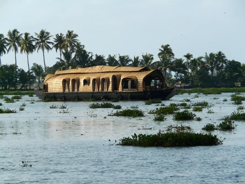 Een van de hoogtepunten van zuidelijk India: De Backwaters
