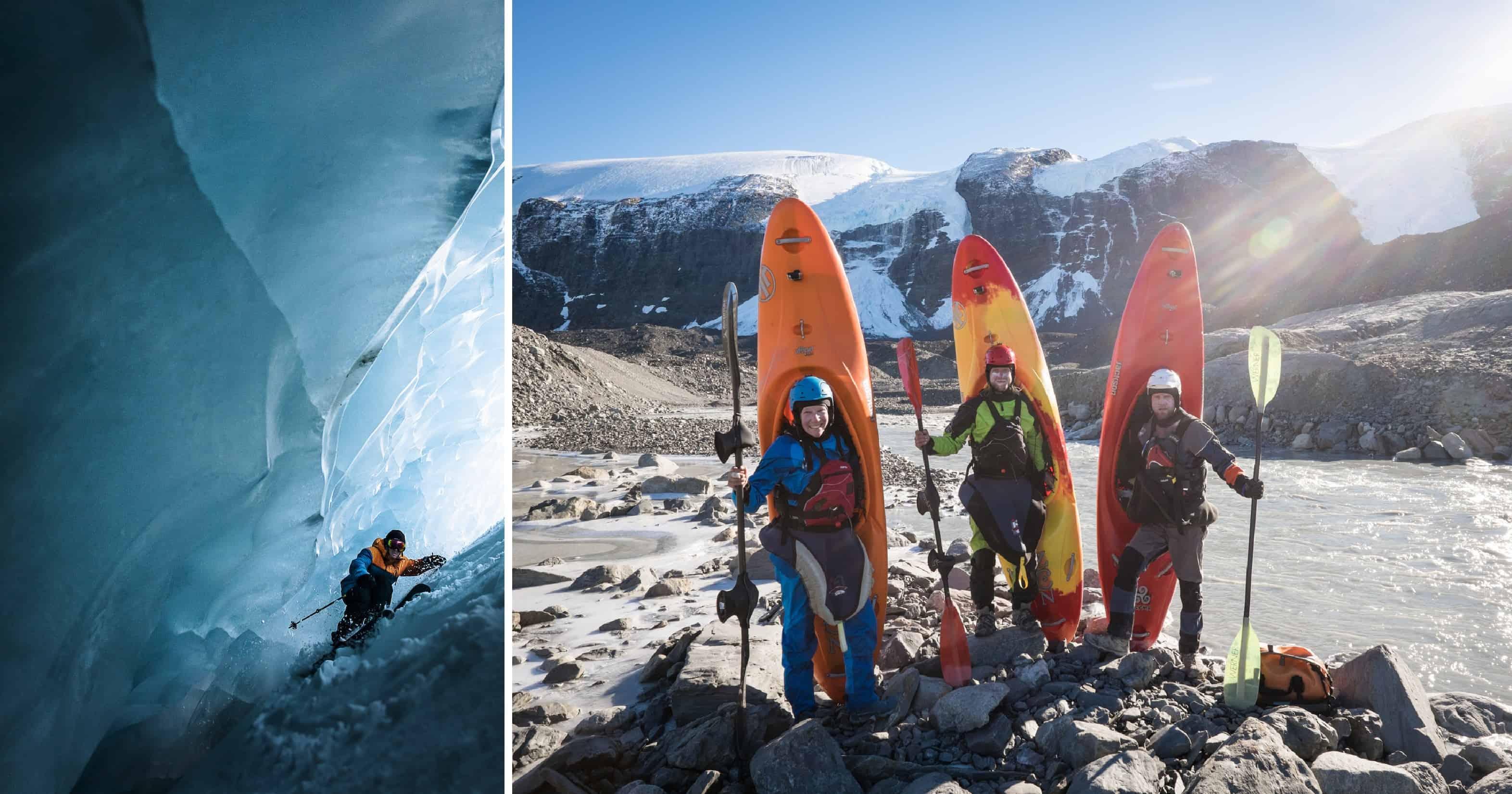 Gletsjers trotseren - Ice Call © Fabian Bodet - Into Twin Galaxies © Eric Boomer
