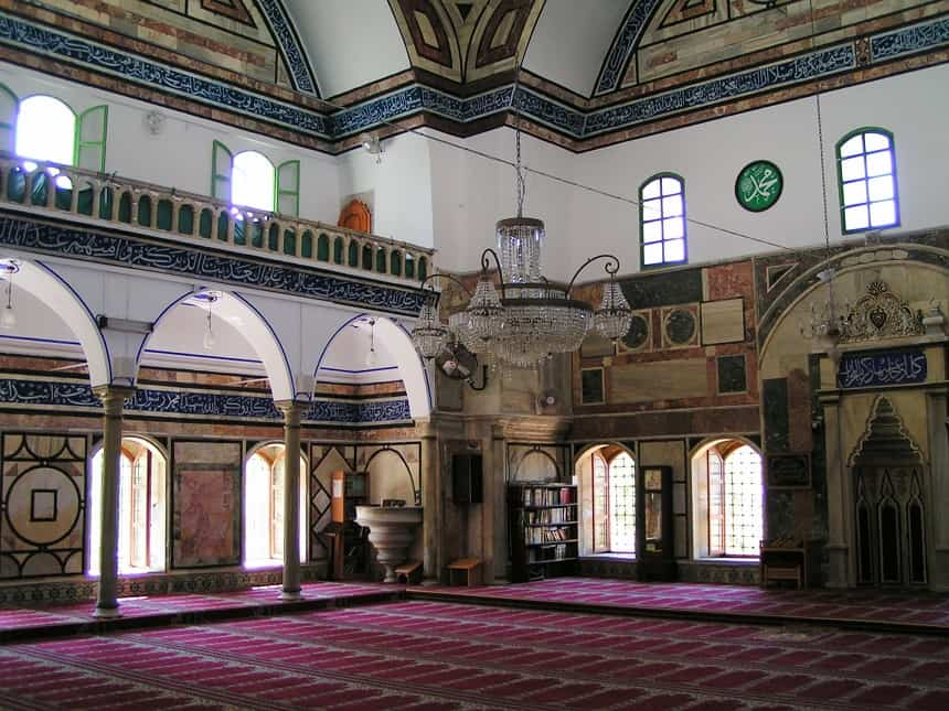 De Ahmed Al-Jazzar Moskee in Akko