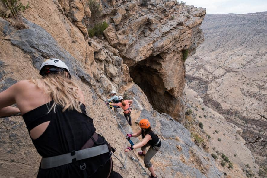 Al Hajargebergte in Oman