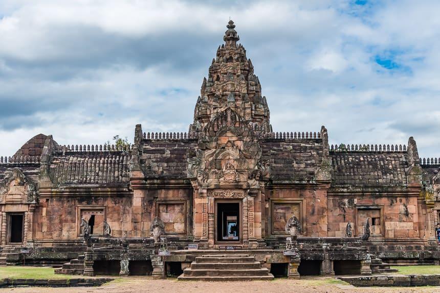 De hoofdtoren van Phanom Rung