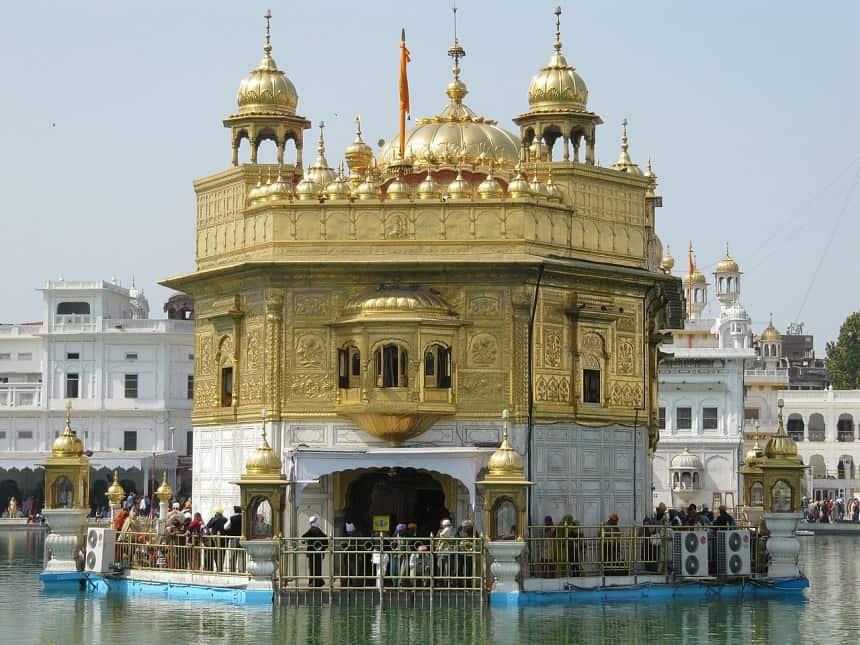 Gouden Tempel in Amritsar