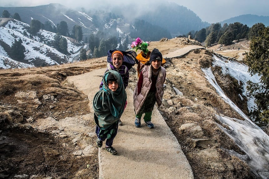 Herfsthike Himalaya