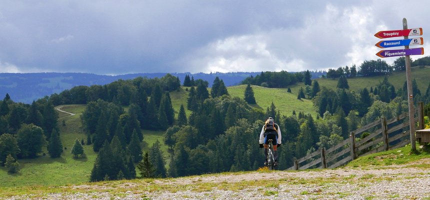 De Grandes Traverseés des Jura: ook per mountainbike of op langlaufski's is het geweldig.