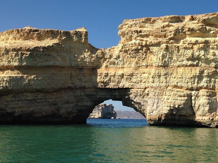 stranden van Oman