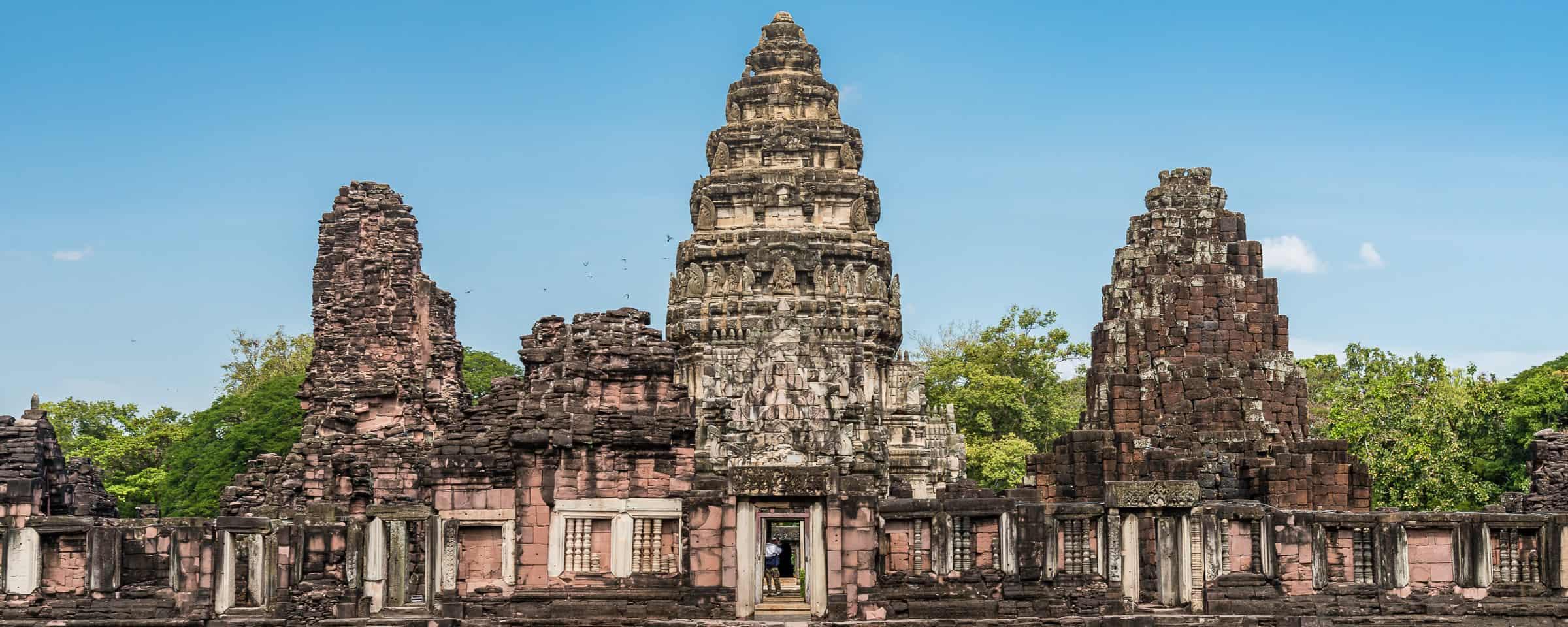 De Khmer tempels van Phimai