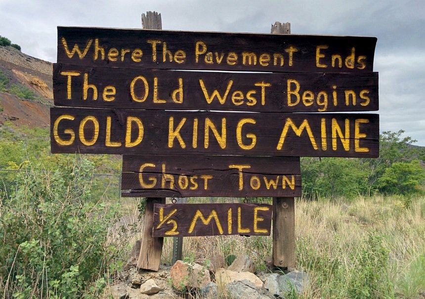 'Where the old west begins'