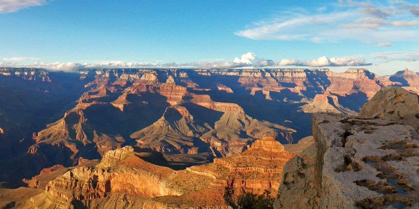 De Grand Canyon. Zooo mooi, maar niet eens het hoogtepunt van de reis!