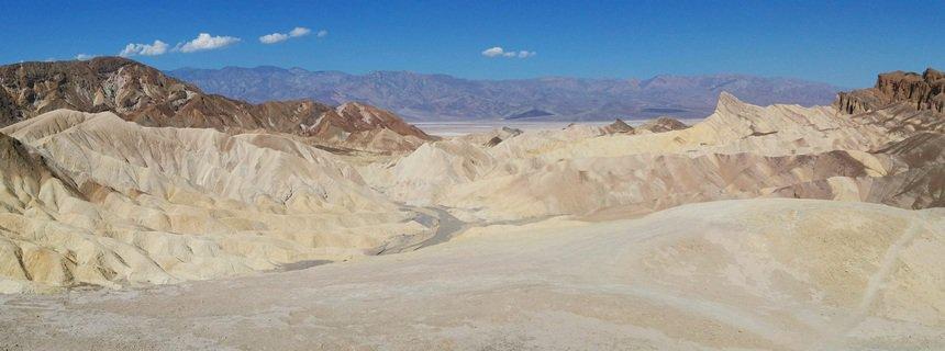 In Death Valley is het makkelijk 50 graden. Genoeg water bij je?