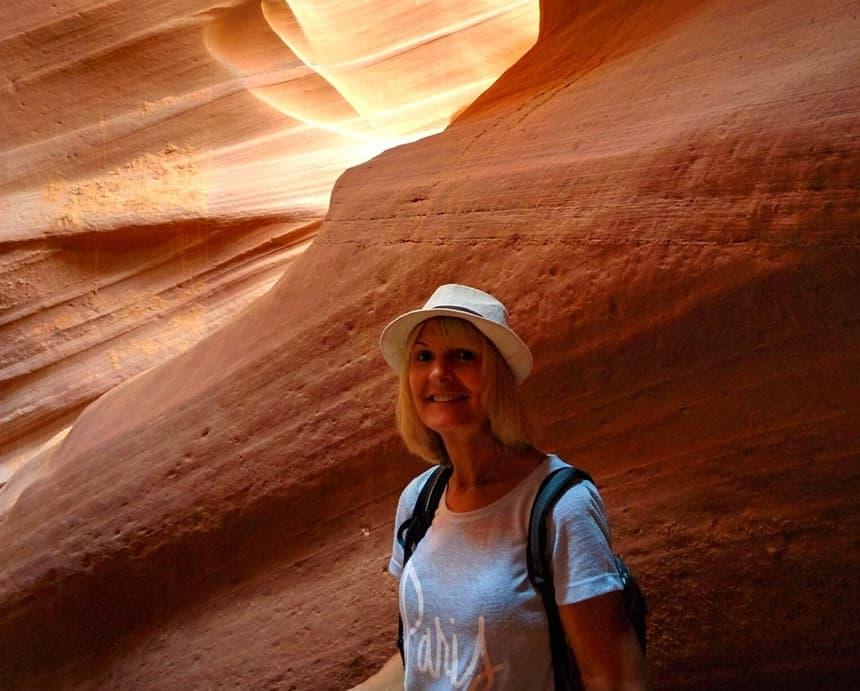 Het mooiste!! Lower Antelope Canyon in Page.