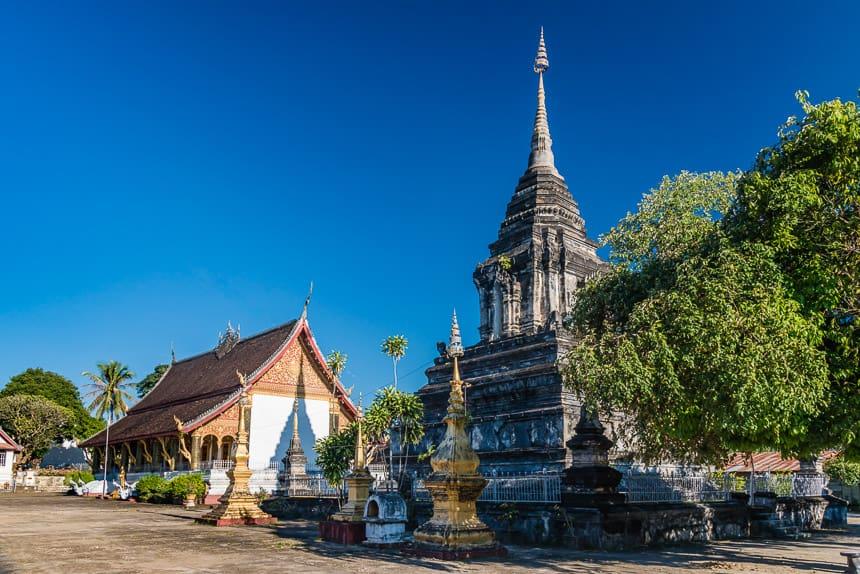 Wat Phra Mahathat in Luang Prabang.