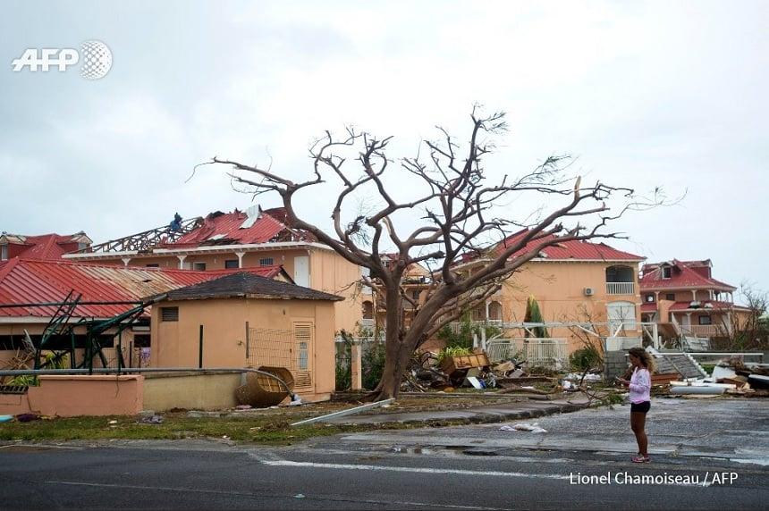 schade door orkaan