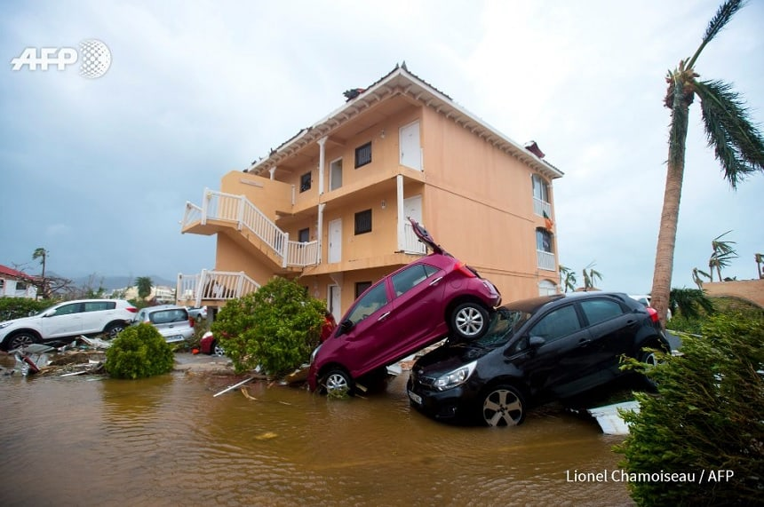 sint maarten orkaan