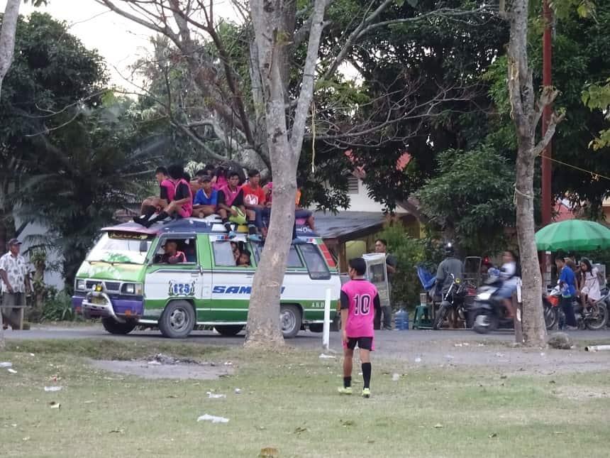 spelersbus FC Tuktuk