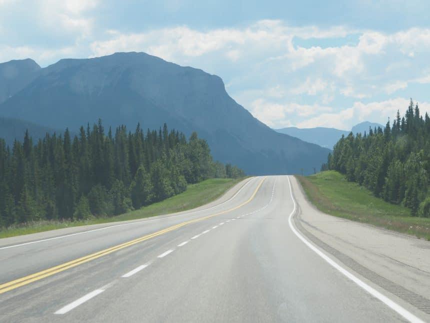 Verlaten wegen in Canada