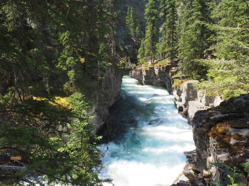 Maligne Canyon in Canada