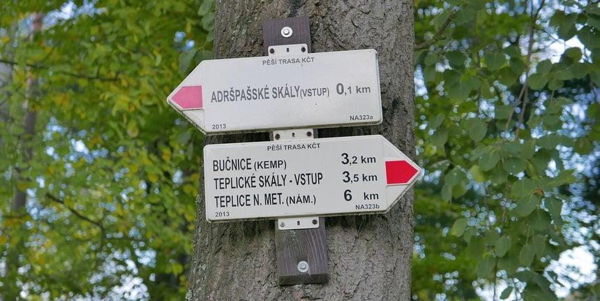 In Oost-Bohemen kun je volop wandelen en fietsen.