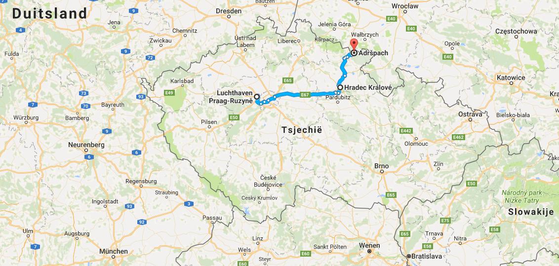 Oost-Bohemen, de regio Hradec Kralové