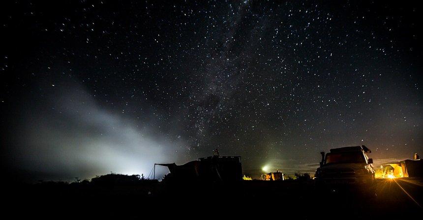 Namaqua Flower Beach Camp, slapen onder de fantastische sterrenhemel aan de Atlantische Oceaan