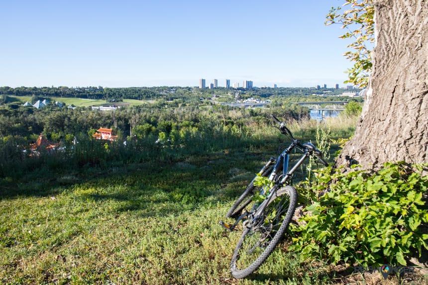 Edmonton is een ontzettend groene stad