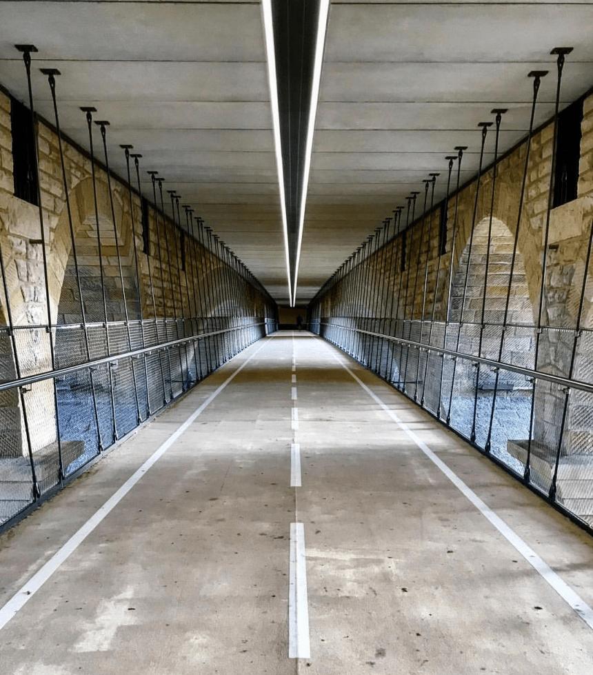 De Adolfsbrug in Luxemburg