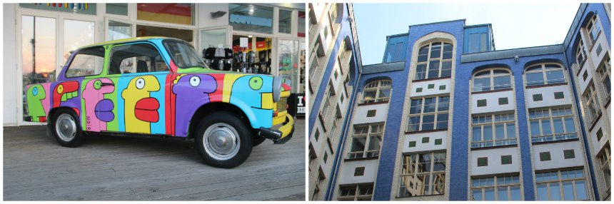 Berlijn is ondanks het grauwe verleden een stad met kleurrijke details
