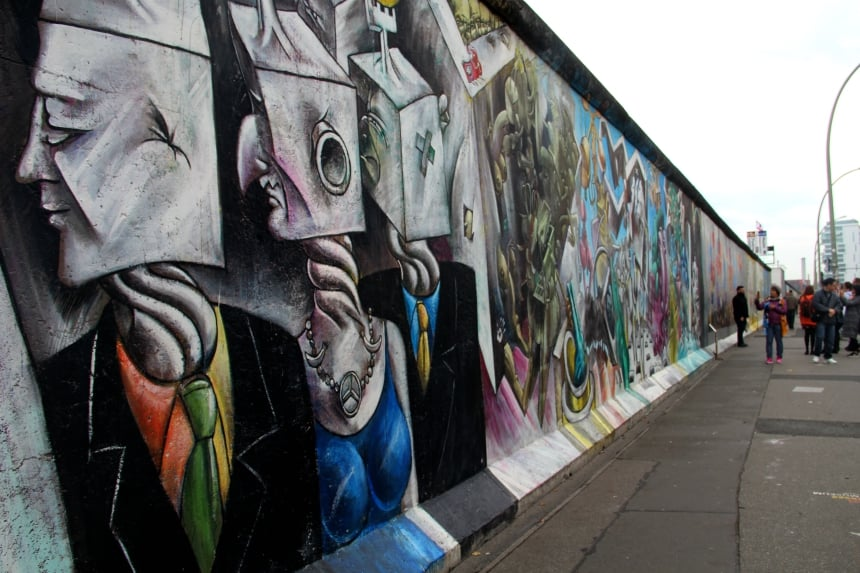 East Side Gallery is een must-see in Berlijn