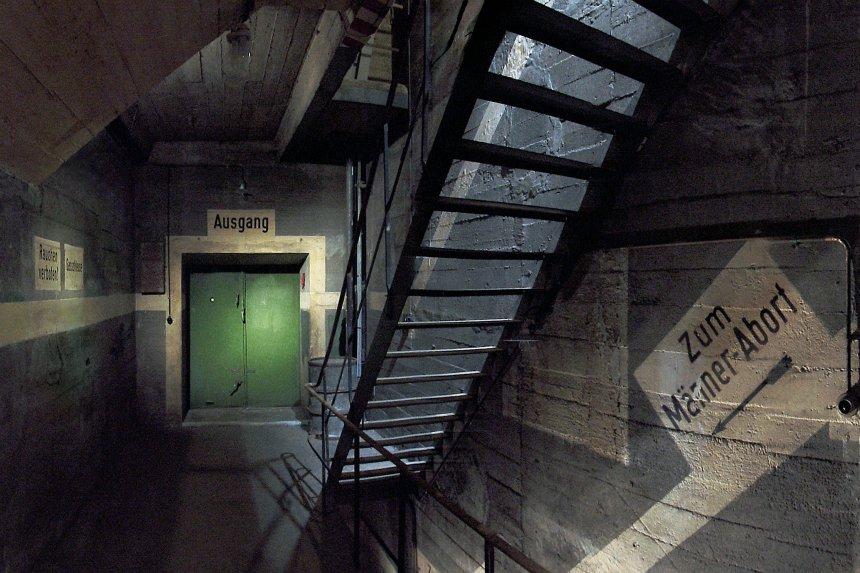 Berliner Unterwelten geeft rondleidingen in een schuilkelder uit de Tweede Wereldoorlog
