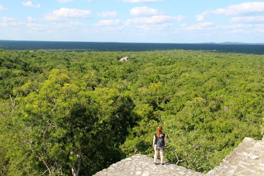 Ontdek de verborgen Mayaruines van Calakmul tijdens je rondreis door Mexico