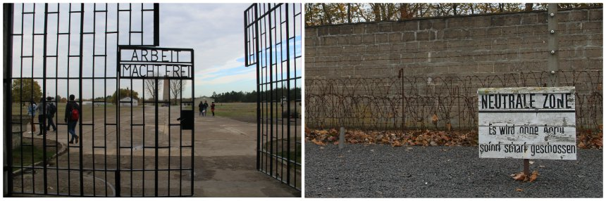 Concentratiekamp Sachsenhausen ligt op 1,5 uur reizen buiten Berlijn