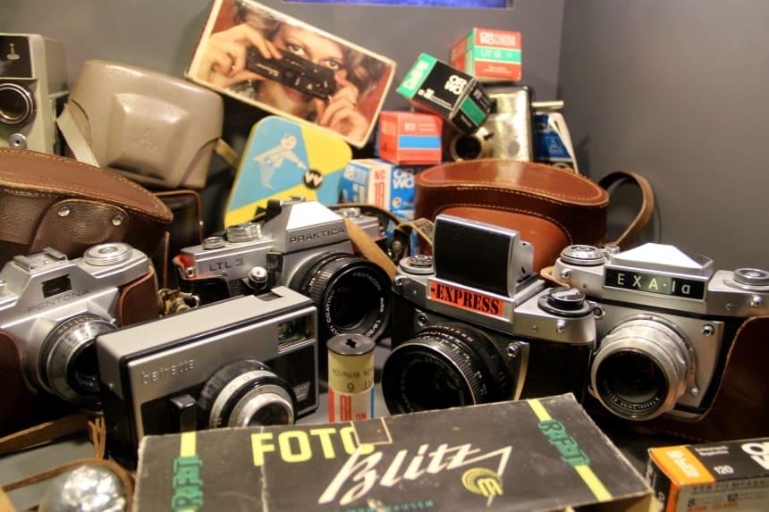 Geschiedenis Berlijn: in het DDR museum zie je veel voorwerpen uit voormalig Oost-Duitsland