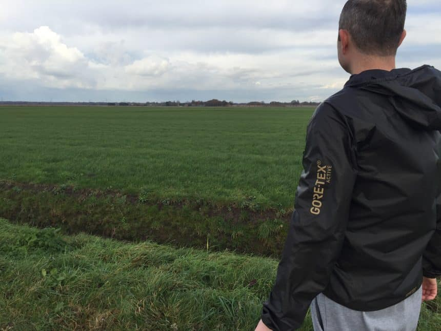 Winddicht running jack van Gore-Tex