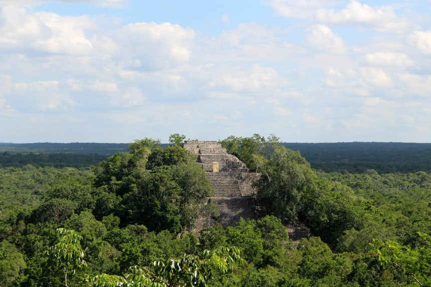 De Mayaruines van Calakmul: ga off the beaten path tijdens je rondreis Yucatán