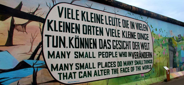 Geschiedenis Berlijn: East Side Gallery