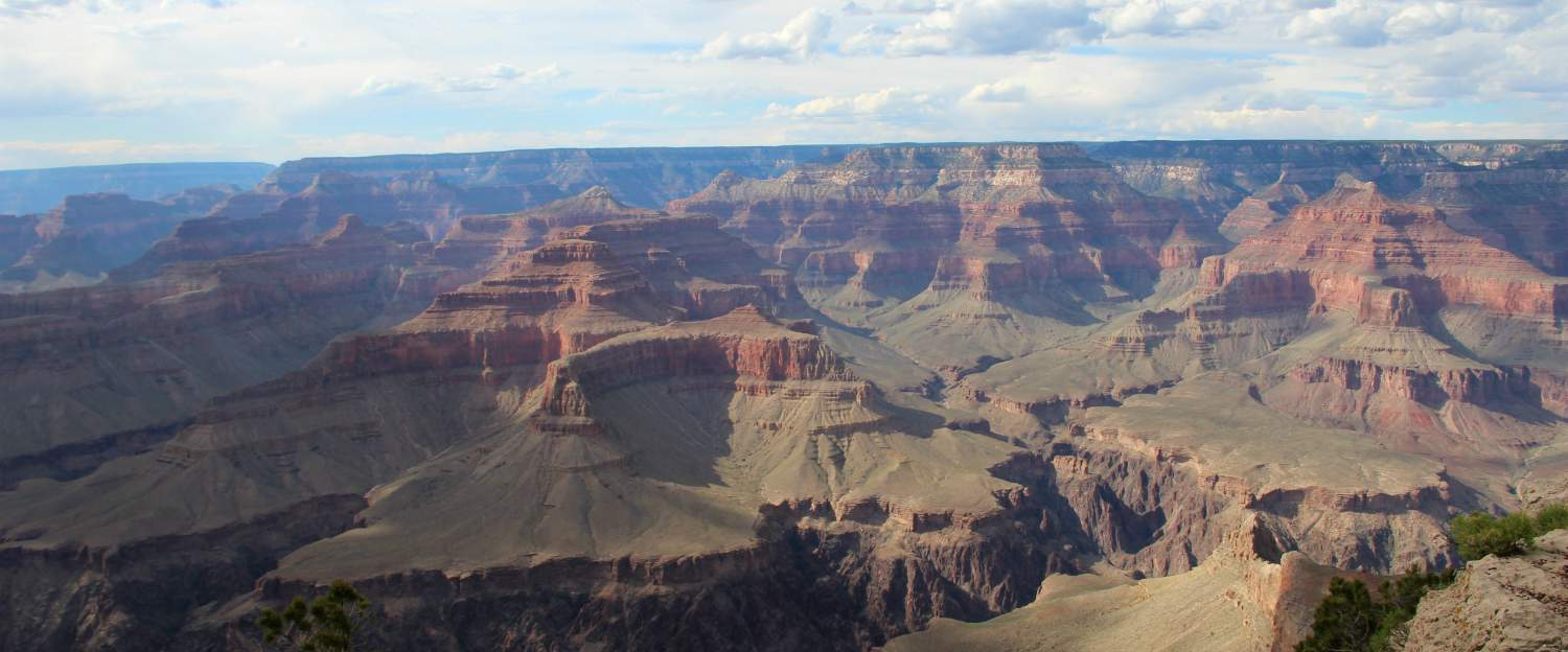 De immens indrukwekkende Grand Canyon