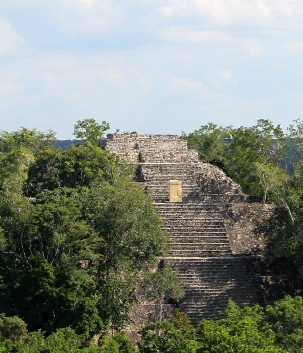 Mayaruines in Mexico