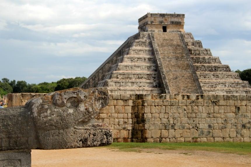 De Mayaruines van Chichen Itza zijn een must see in Mexico