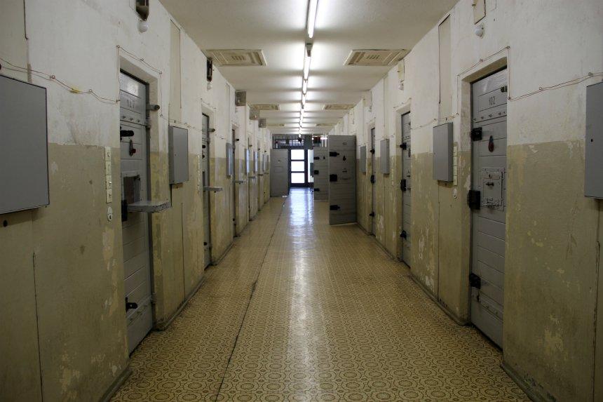 De voormalige Stasigevangenis Hohenschönhausen in Berlijn
