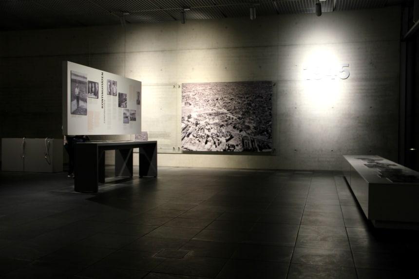 Geschiedenis Berlijn: Topographie des Terrors is een museum over de misdaden van de nazi's
