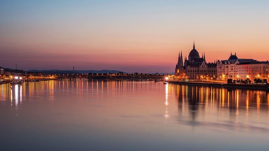 boottocht over de Donau
