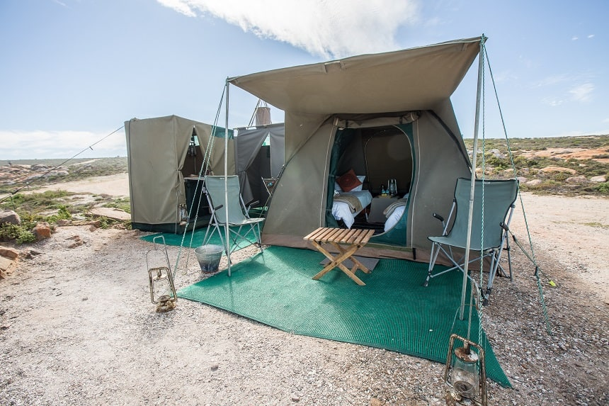 glamping in zuid-afrika