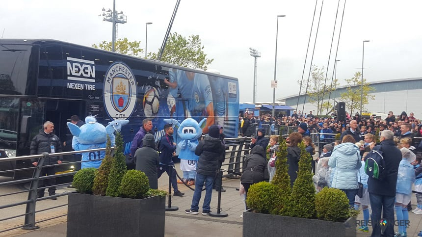 players arrival manchester city