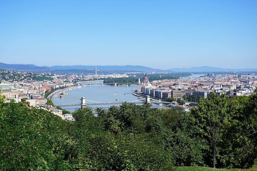 Het uitzicht vanaf Citadel