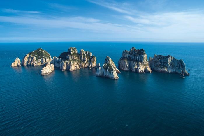 Zuid-Korea telt meer dan 3000 kleine eilandjes